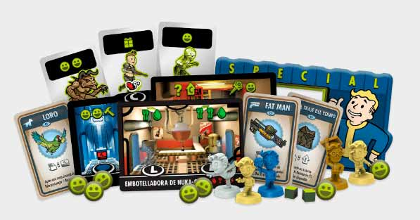 Fallout Shelter Componentes