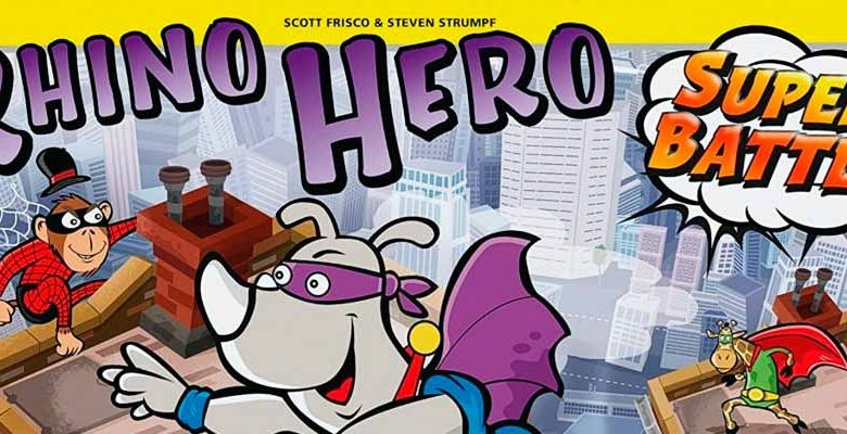Rhino Hero Super Battle juego mesa